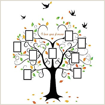 Family Tree Mural Templates Amazon Family Tree Wall Decal Peel & Stick Vinyl