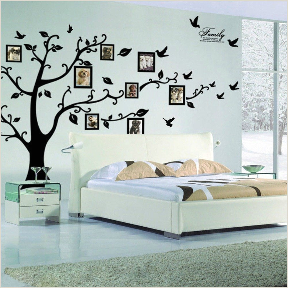 Family Tree Mural Templates Family Tree Wall Decal Peel & Stick Vinyl Sheet Easy to Install & Apply History Decor Mural for Home Bedroom Stencil Decoration Diy