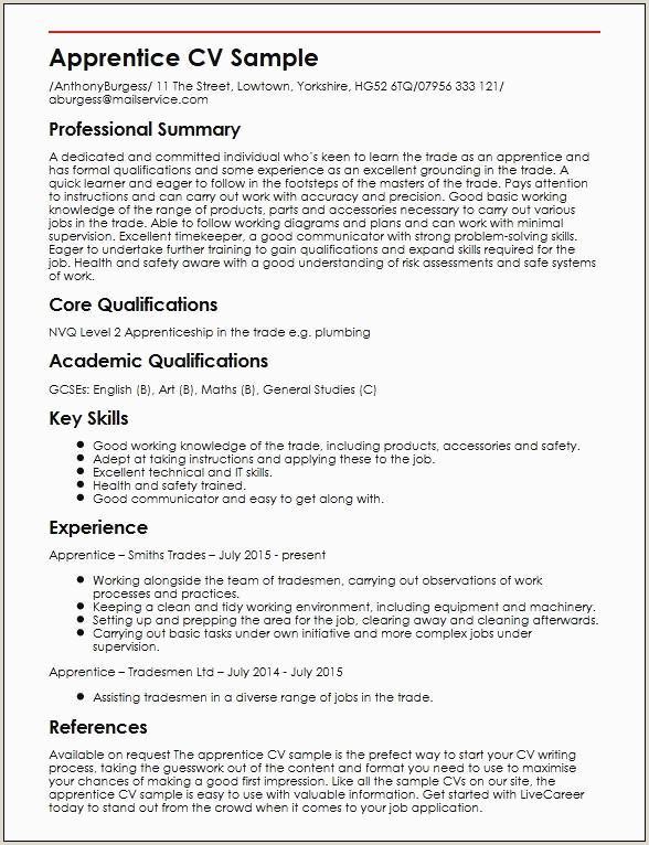 Professional Fonts for Resume Sample Skills for Cv Best