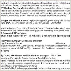 Fast Food Job Description for Resume Free Fast Food Job