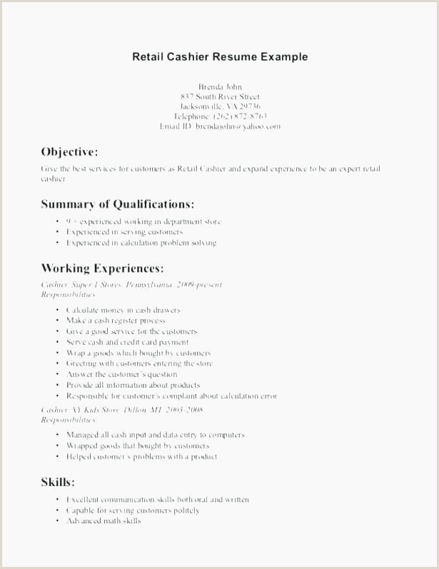 Fast Food Resume Objective Fast Food Resume Objective – Murrosfo