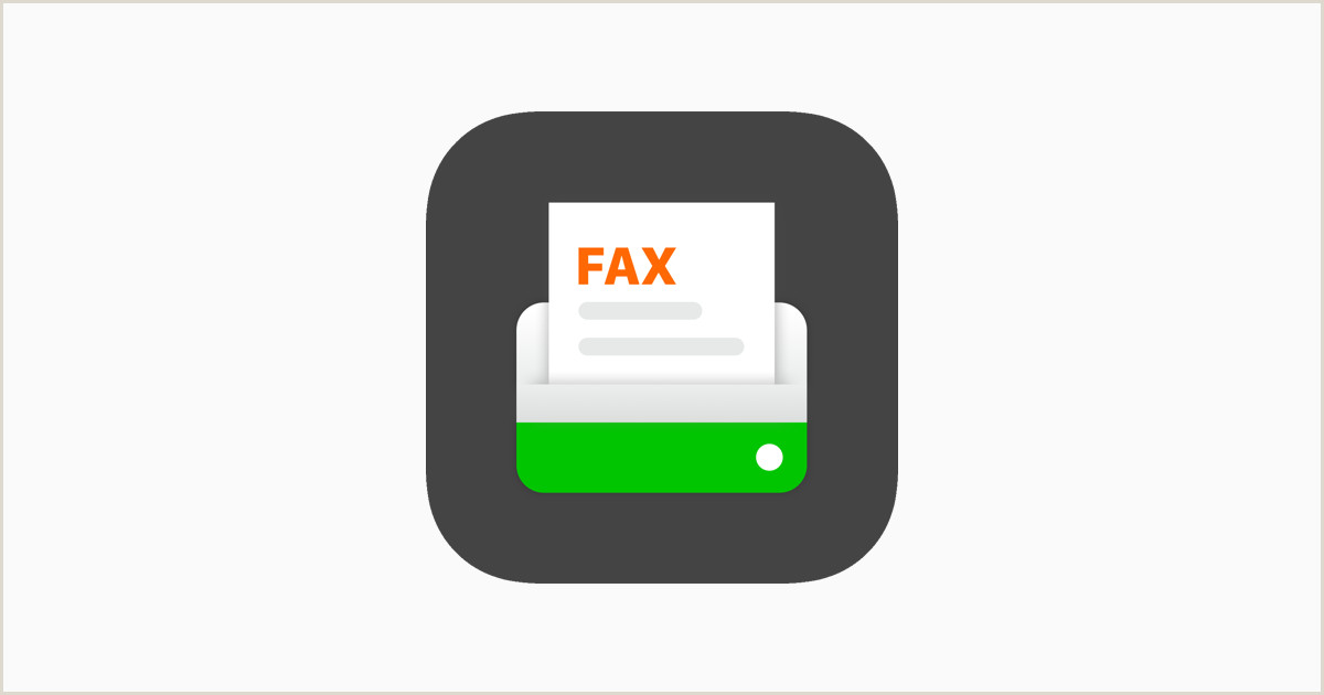 Fax Cover Sheet Pages Mac Fax From iPhone Tiny Fax On the App Store