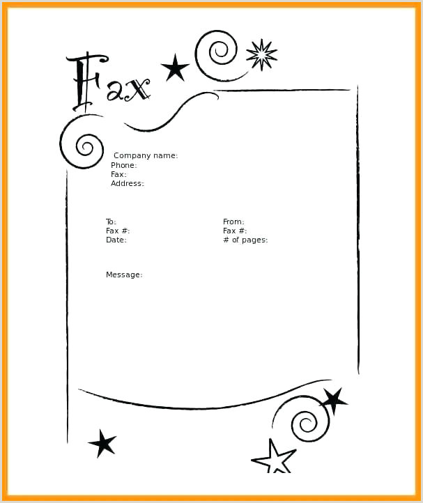 Free Printable Fax Cover Sheets Template Download Sheet