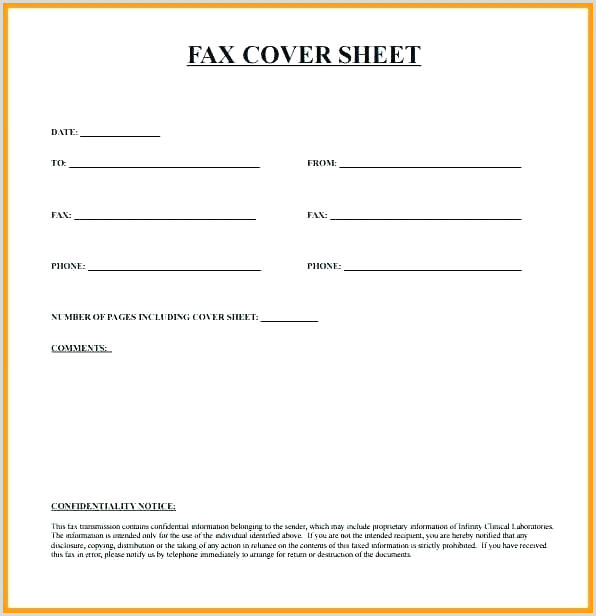 Fax Sheet Cover Letter Sample Free Cover Letter format Fax Sheet form Job Application