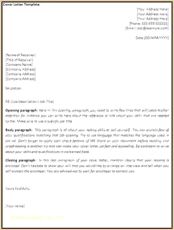 Fax Template Word 2007 Ms Word Business Letter Template – Musacreative