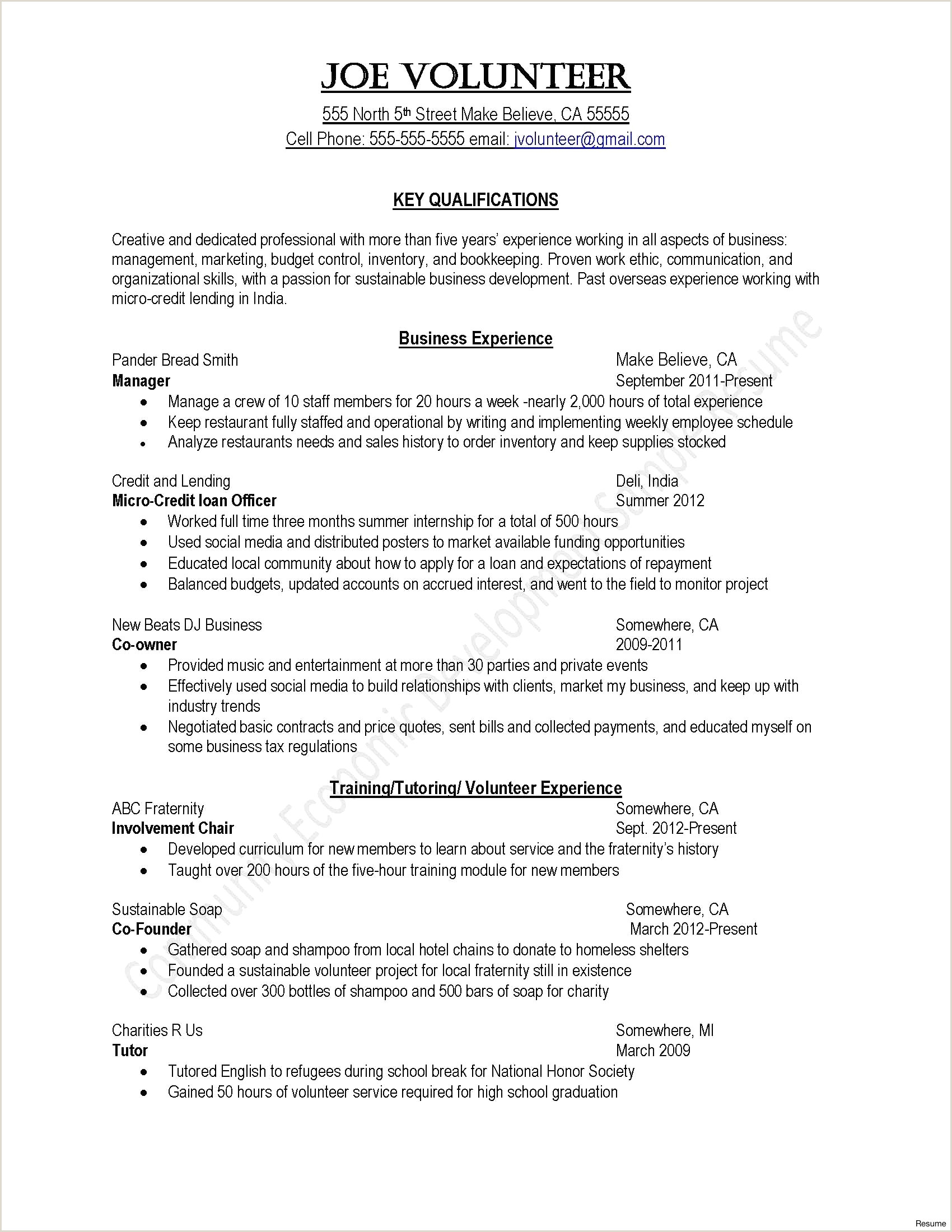 Loan Letter Template Examples