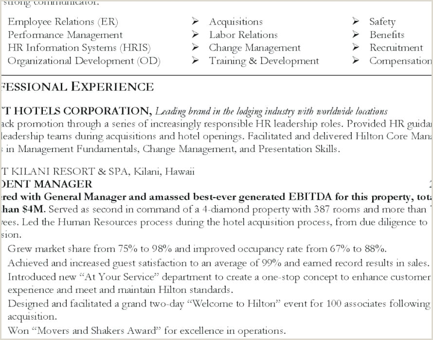 10 example federal resume