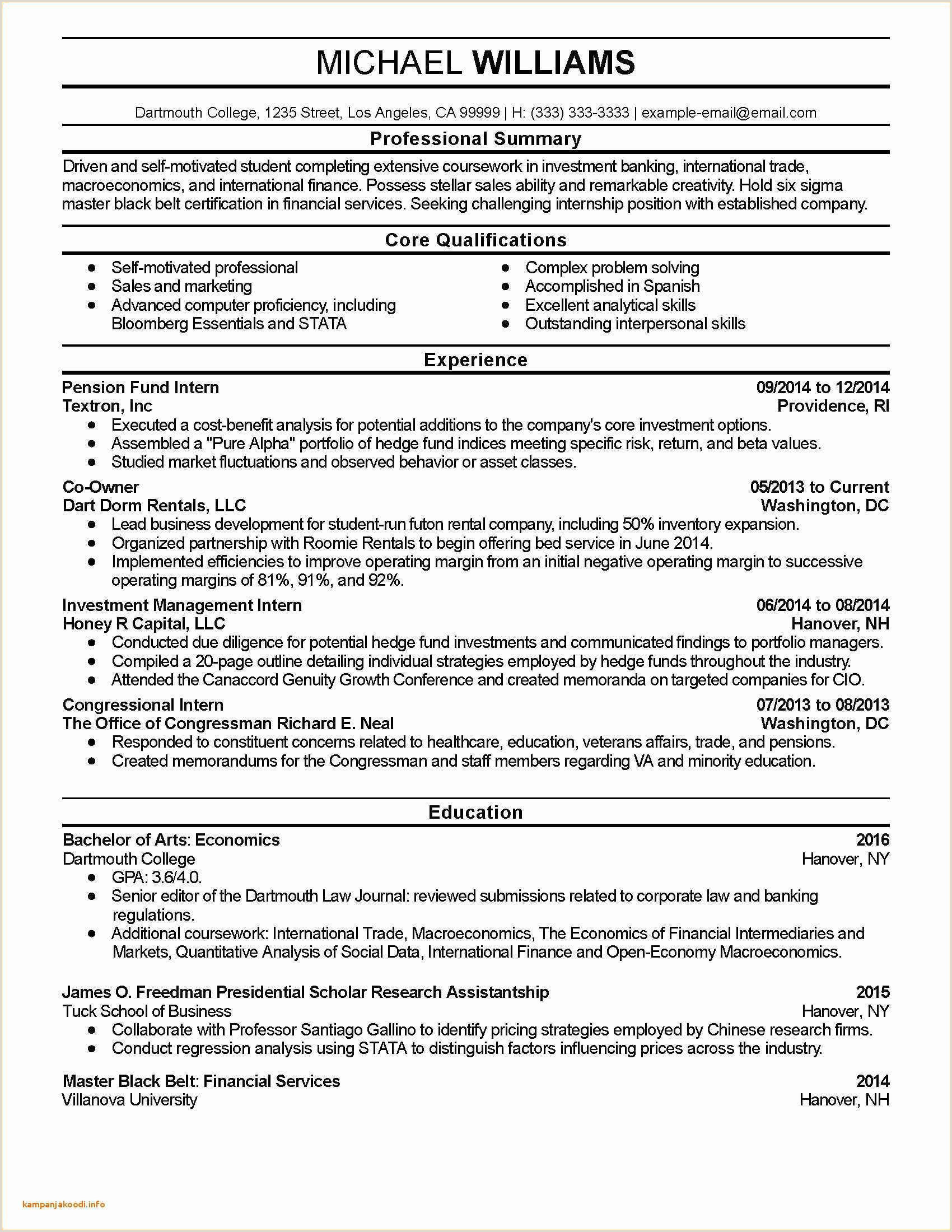 Elegant Bachelor social Work Resume Example – 50ger