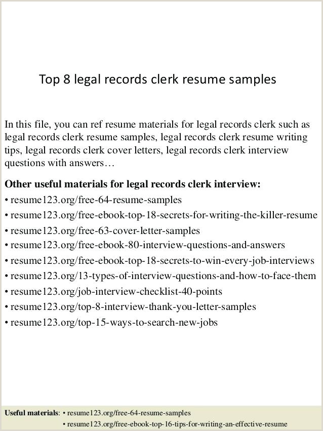 File Clerk Resume Objective Legal File Clerk Cover Letter – Coachyax