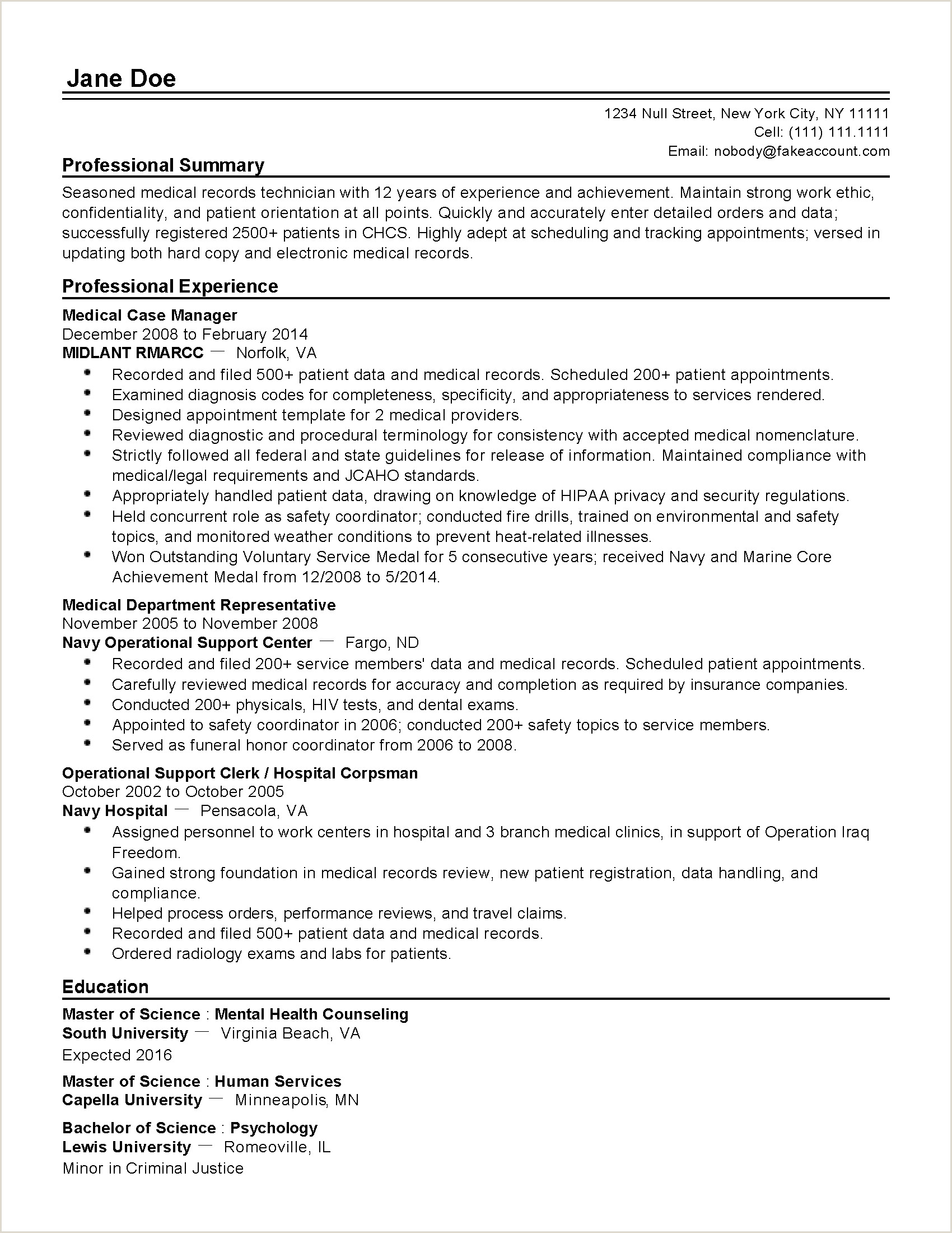 File Clerk Resume Objective Resume for Medical Records Position Websites to Write Essays