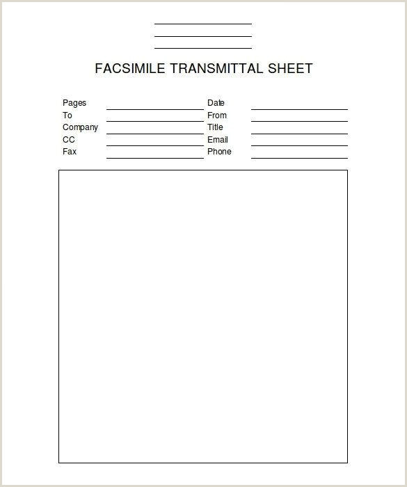 41 Free Printable Fax Cover Sheet Pdf Template that You can