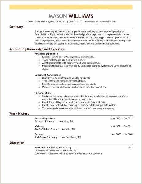 Finance Internship Resume Awesome Internship Resume Example – 50ger