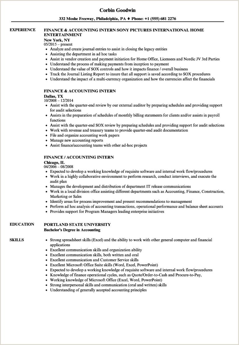 Corporate Internship Resume Samples Velvet Jobs Sample For
