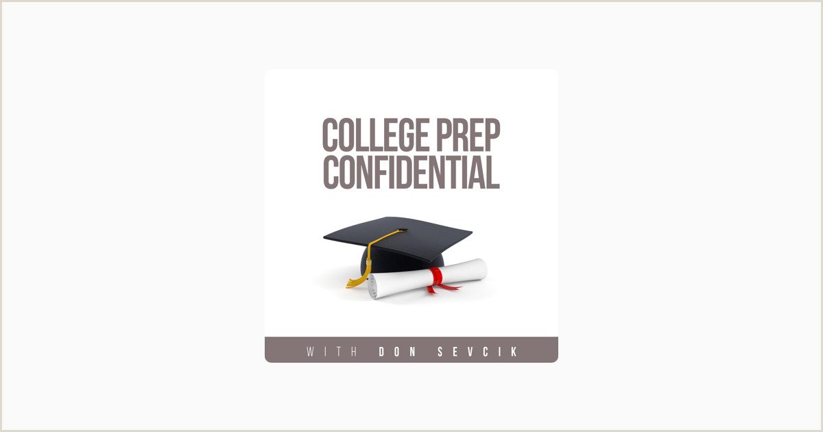 College Prep Confidential on Apple Podcasts