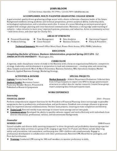 Financial Services Representative Resume Resume Samples Entry Level Resume Sample
