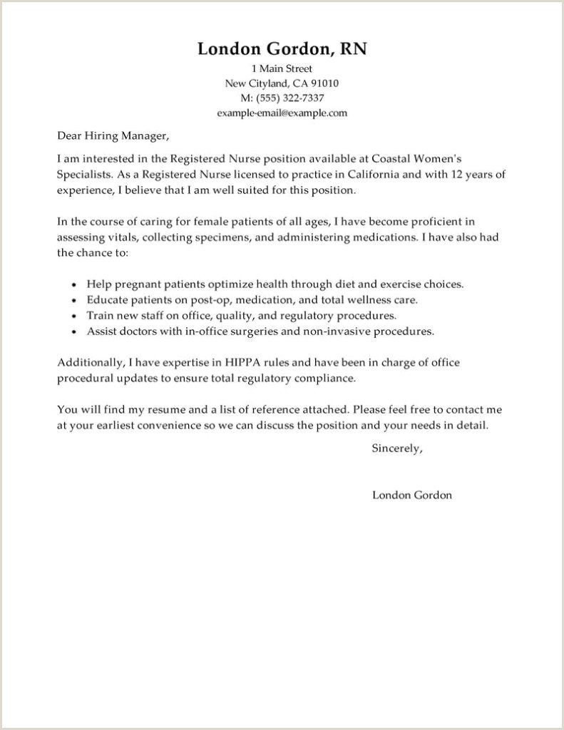 Find My Resume attached Nursing Resume Cover Letter Template Free Registered