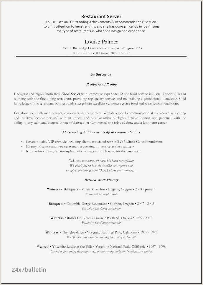 Caterer Resume Sample Free Catering assistant Sample Resume