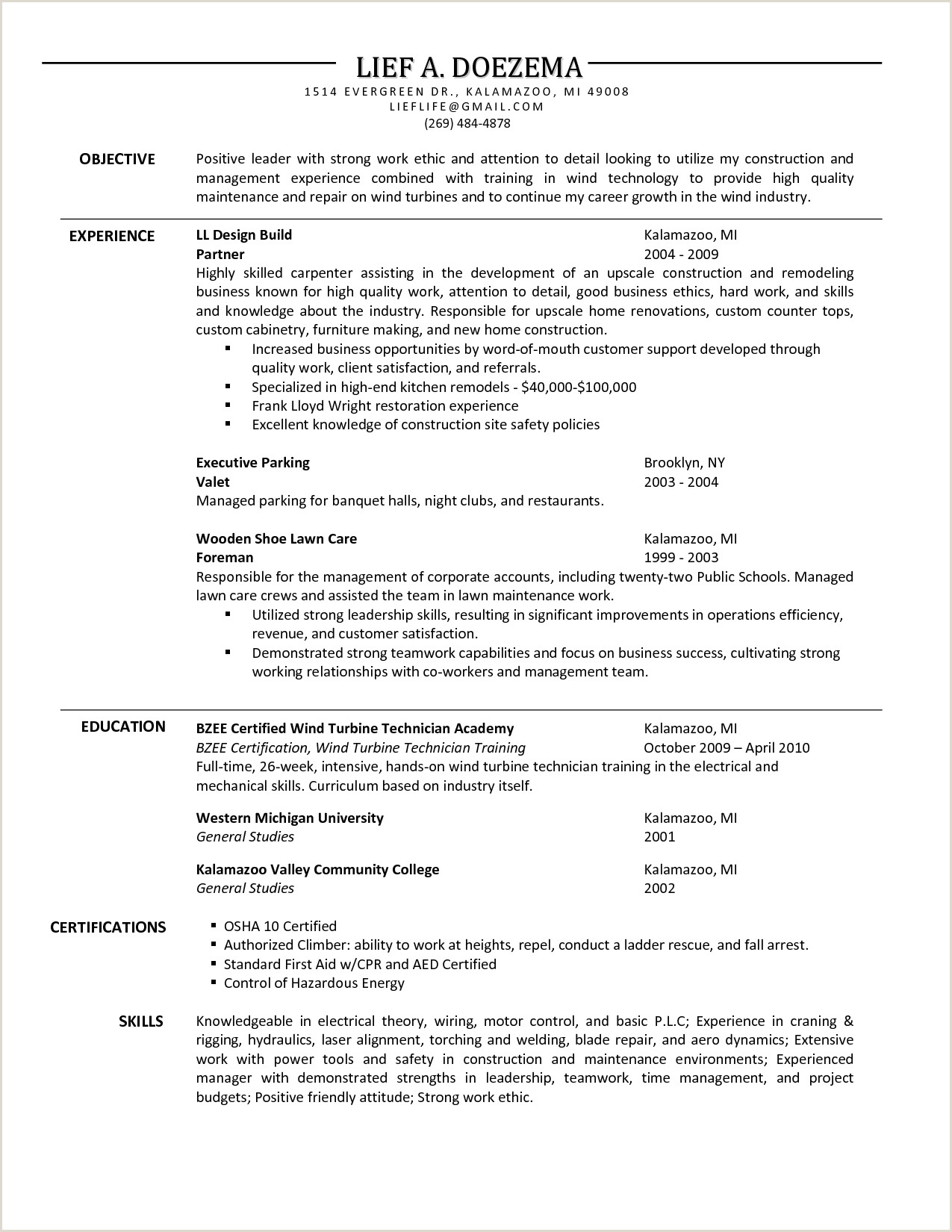 Electrician Apprentice Resume Examples Sample Electrician