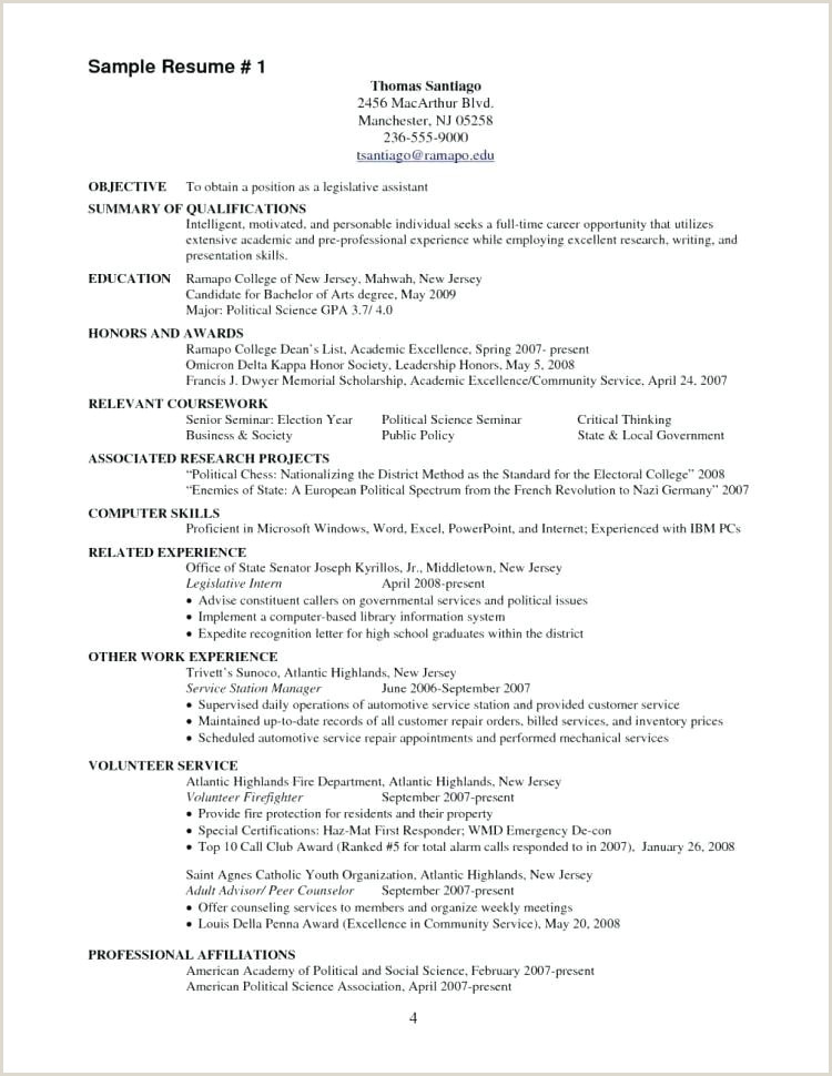 Fire Chief Resume Examples Best Fire Department Resume