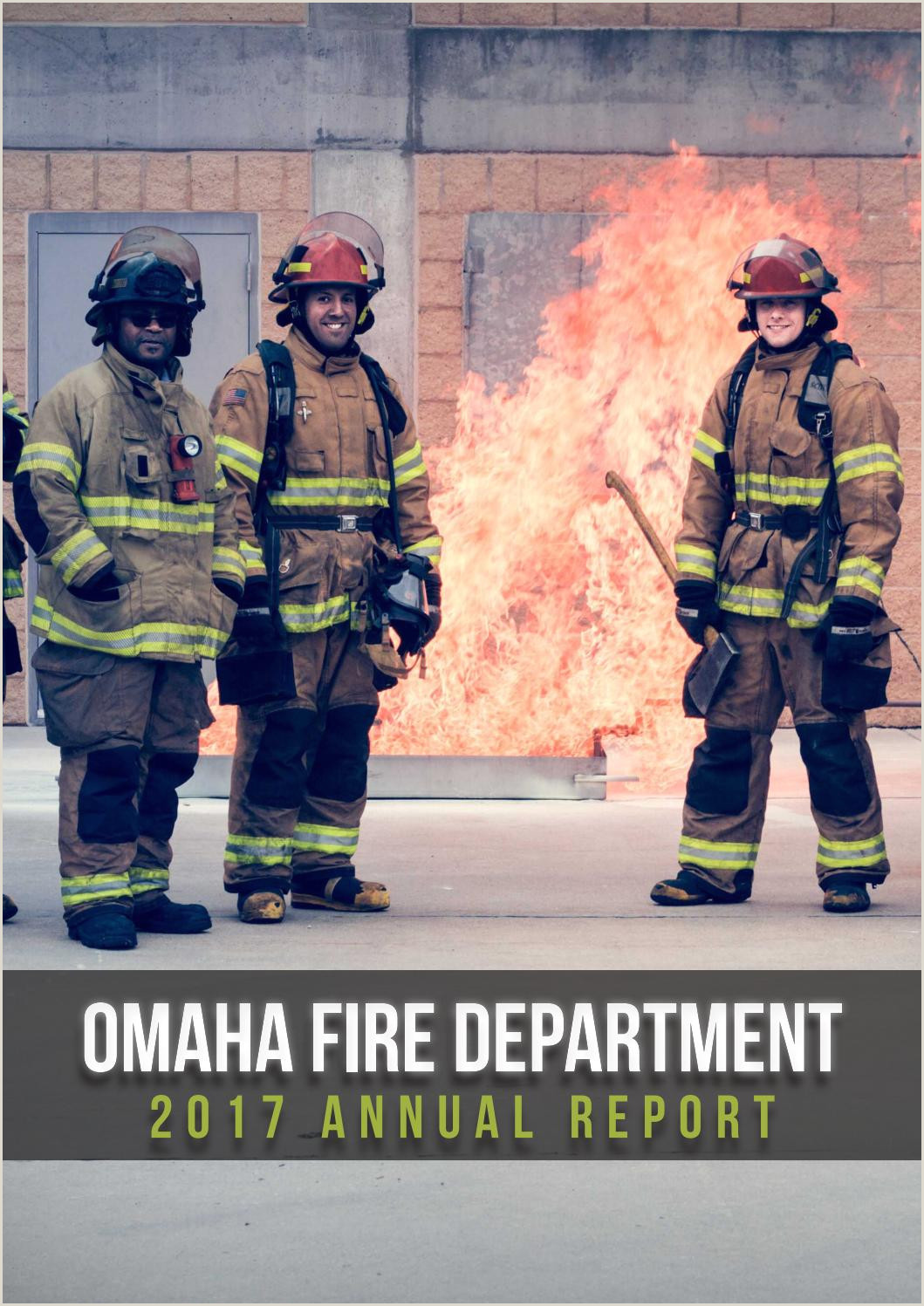 2017 Omaha Fire Department Annual Report by Omaha Fire