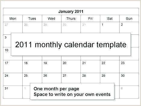 calendar customizable template