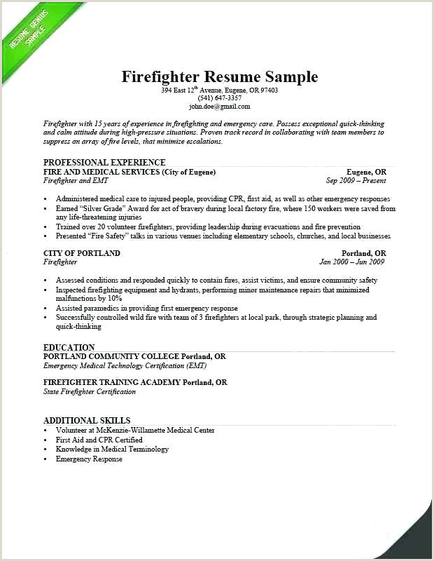 Paramedic Resumes Job Description For Resume Template