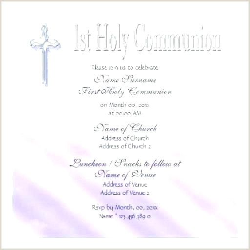 First Communion Invites Templates First Munion Invitation Templates Holy Free Banner