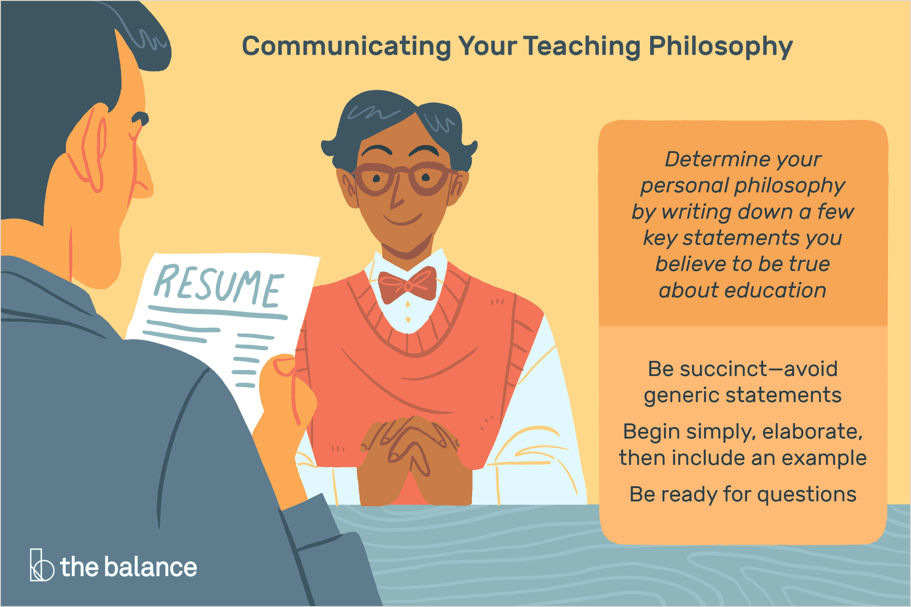 "First Time Substitute Teacher Resume How to Answer ""what is Your Teaching Philosophy """
