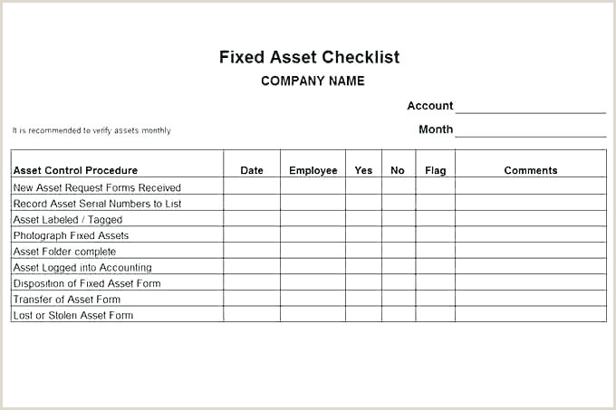 Fixed asset Roll forward Excel Template Fixed asset Register Excel Template Unique assets Schedule