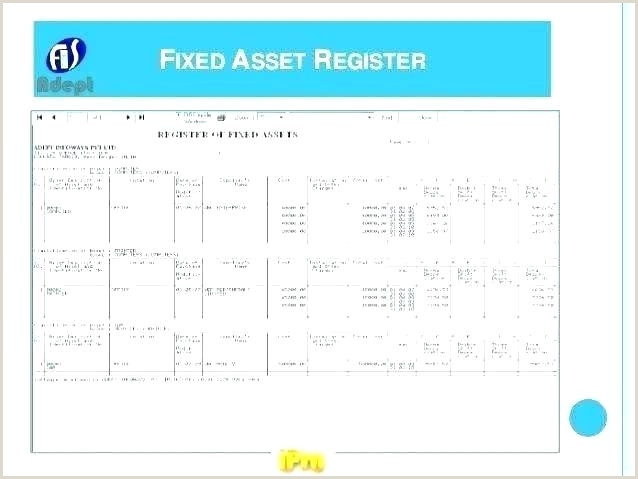 Fixed Asset Roll Forward Excel Template Fixed Asset Template Register Lovely Excel Attendance Non