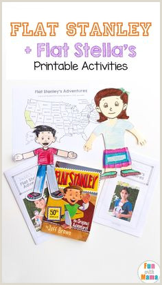 Flat Stanley Journal Printable 8 Best Flat Stanley Images In 2017
