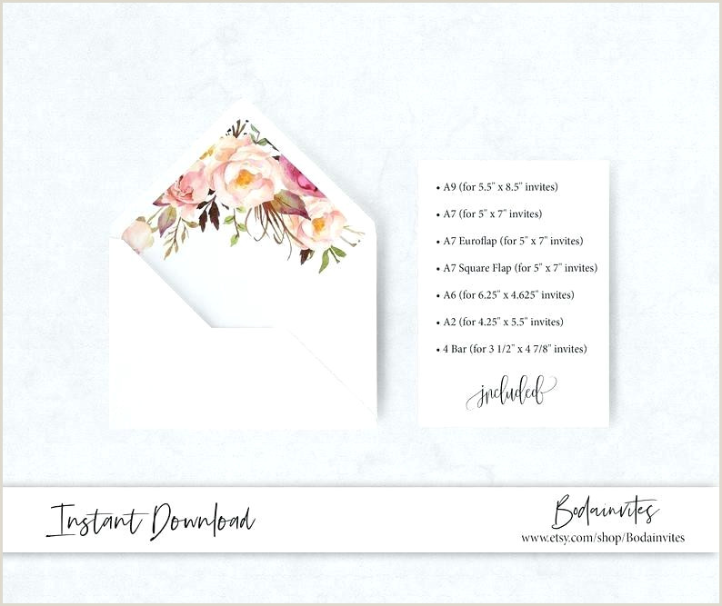 flower envelope template