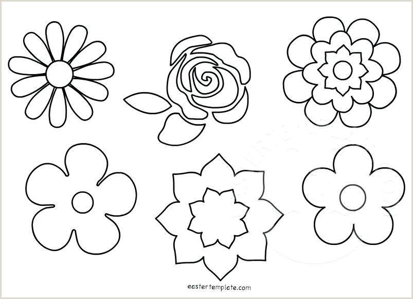 flower shape template