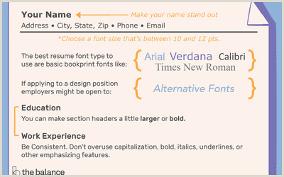 Font Size for Cover Letter the Best Font Styles and Size for Email