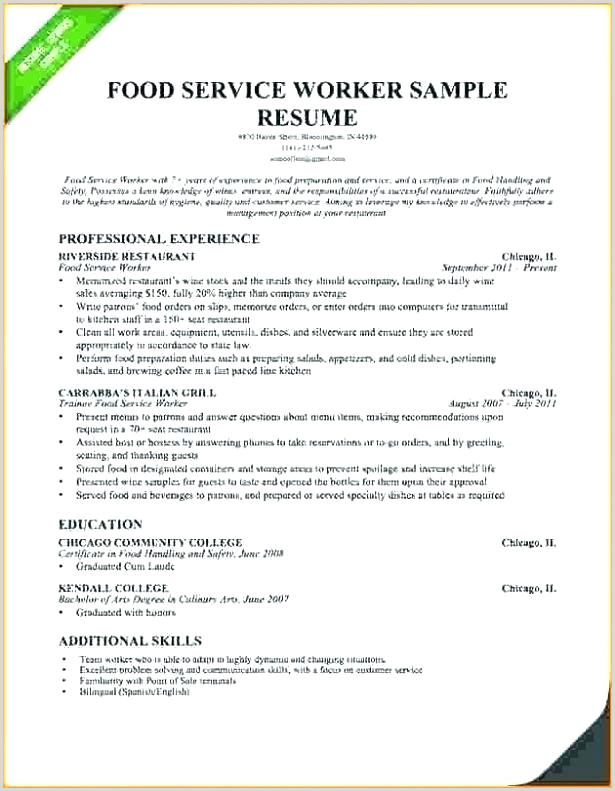 Resume Industry Service Template C Struct For – livencircle