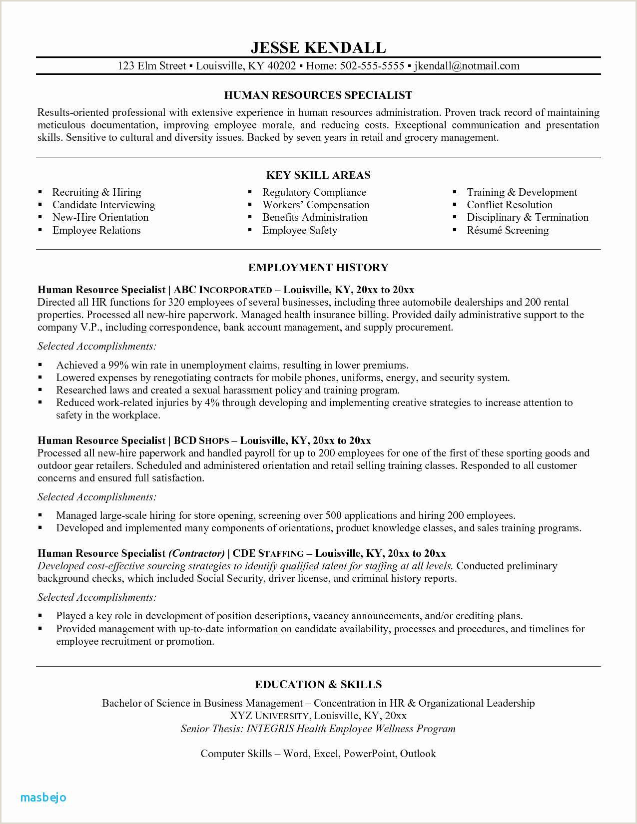pliance ficer Resume Template Letter Mendation Example