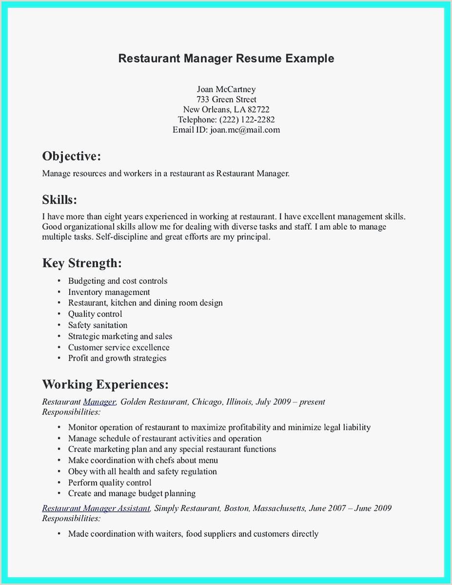 Food Service Manager Resume Restaurant Server Resume Sample Examples Food Server Resume
