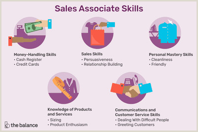 Food Service Specialist Resume Important Sales associate Skills List for Resumes