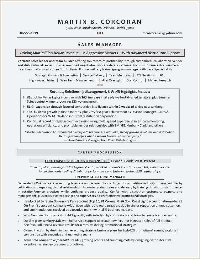 Classy Manager Resume Sample Resume Design