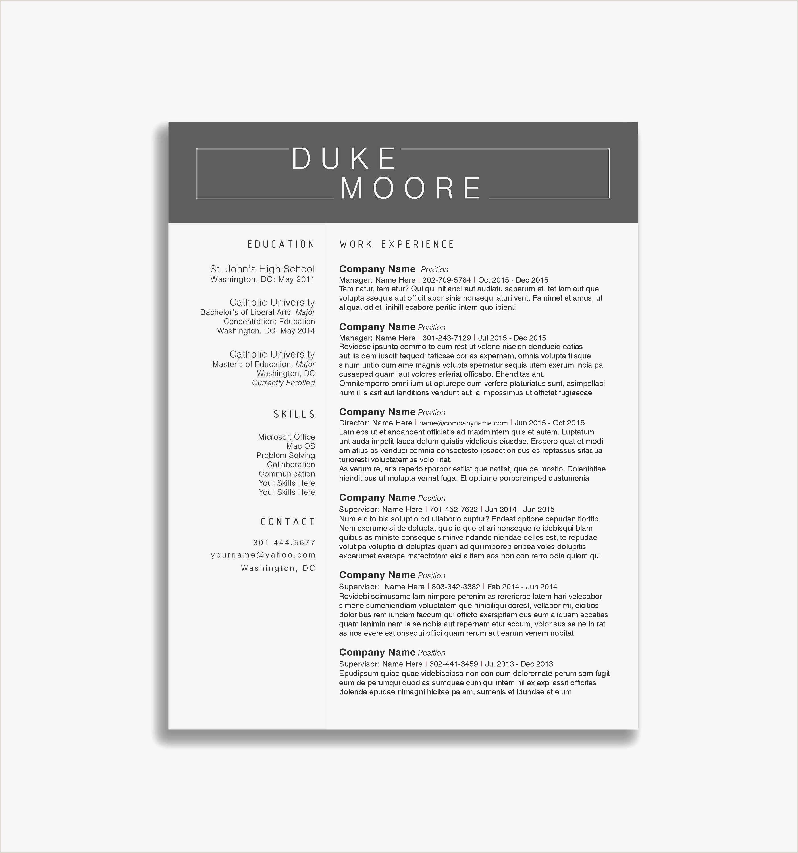 Food Service Resume Template Free Food Service Resume