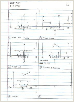 Wayne Williams Tiger fense football formation drawing