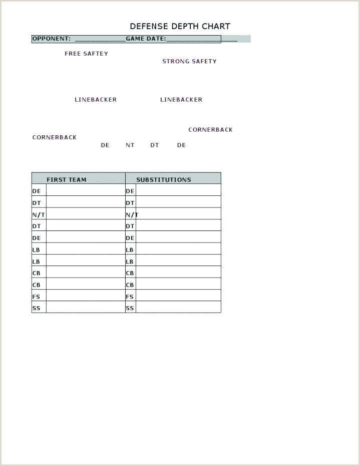 Football Play Chart Template Baseball Depth Chart Template – Hitachicustomersupportfo