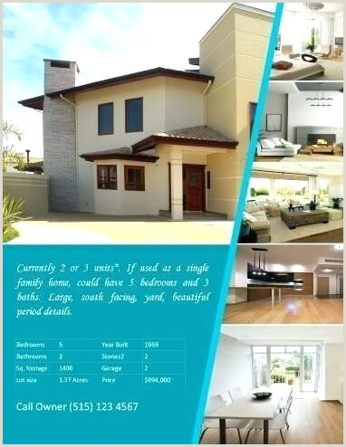 For Sale by Owner Flyer for Sale by Owner Flyer Template House Advertisement Design