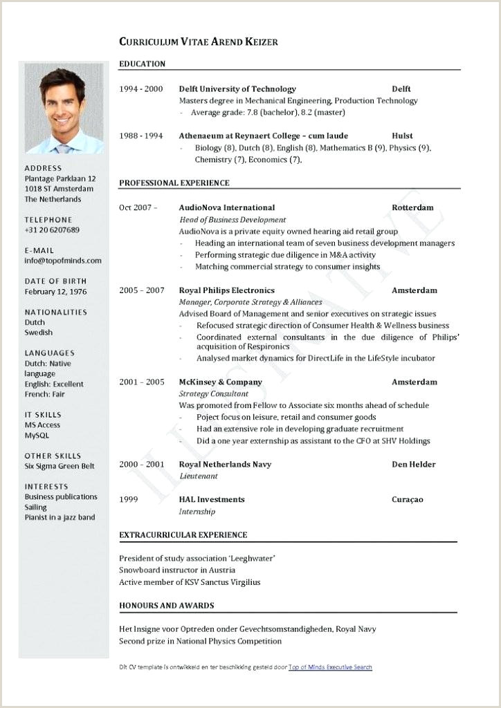 Format De Cv Europass Curriculum Vitae Template Templates Professional English Cv