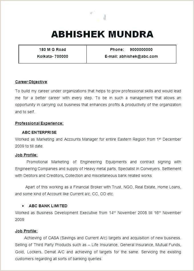 Resume for Job Application Pdf Best Cover Letter Job