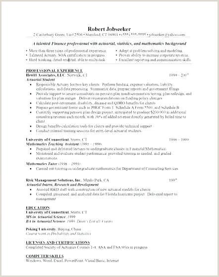 Format Of A Professional Cv .doc Cv original Gratuit Nouveau 58 original Free Resume Sample