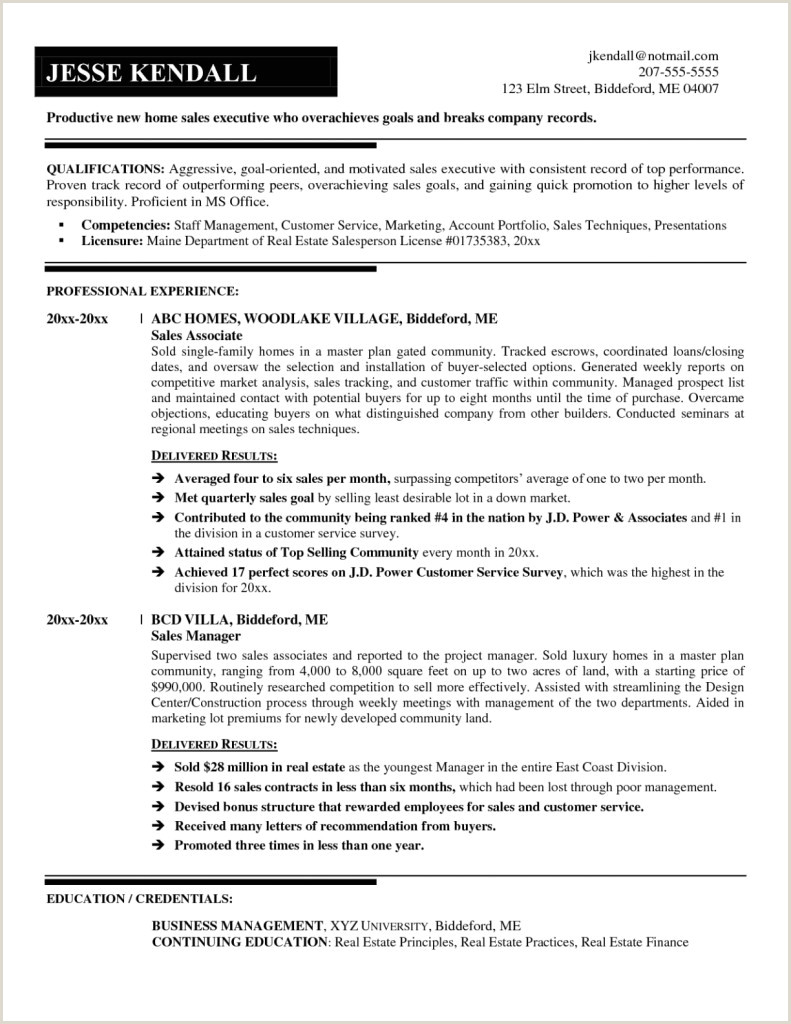 Format Of Professional Cv Pdf Objective for Resume General New New General Resume