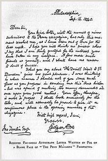 Formato De Como Hacer Una Hoja De Vida Edgar Allan Poe La Enciclopedia Libre