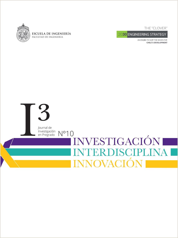Formato De Como Hacer Una Hoja De Vida Journal I3 Investigaci³n Interdisciplina Innovaci³n by