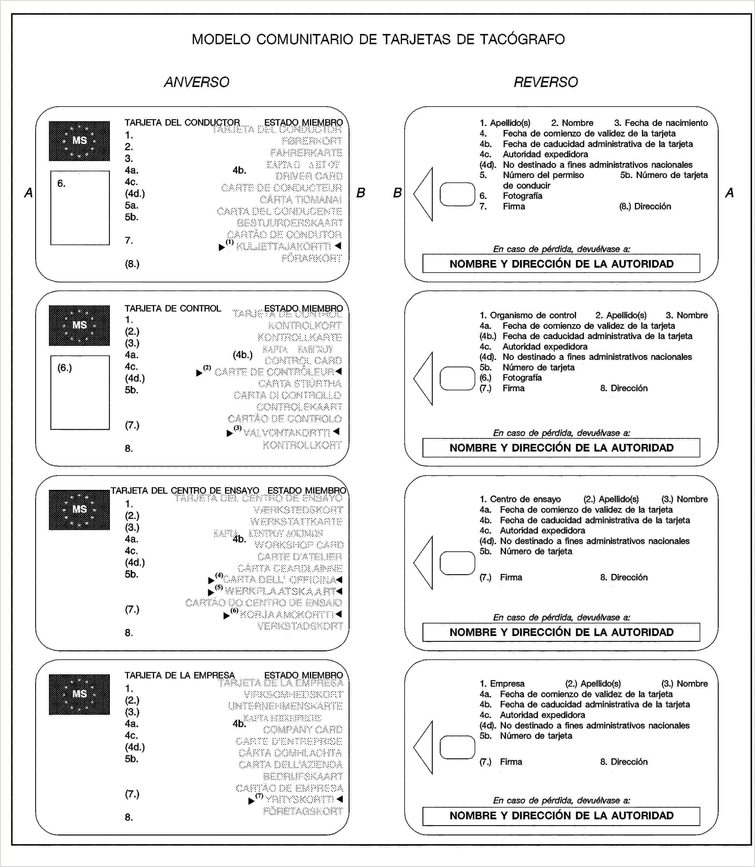Formato De Como Hacer Una Hoja De Vida Texto Consolidado R3821 — Es — 01 10 2012